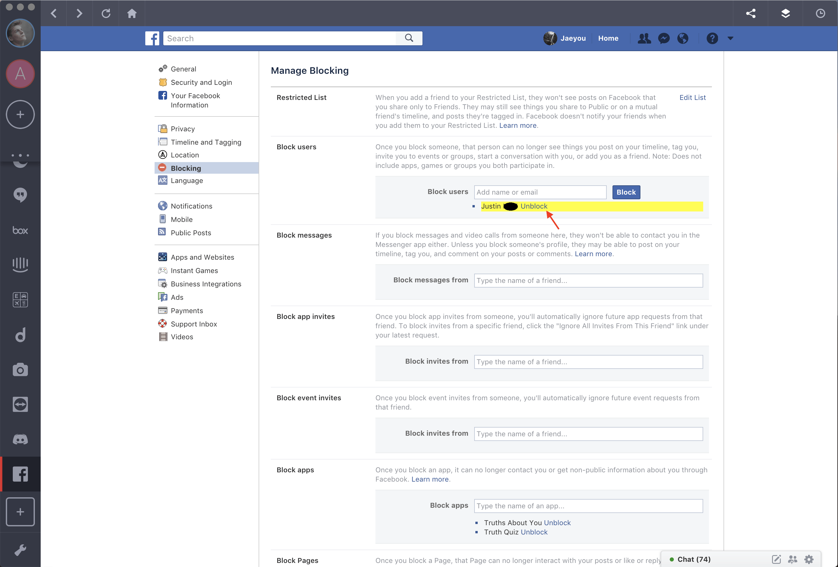 How To Block Or Unblock Someone On Facebook The Shift Blog