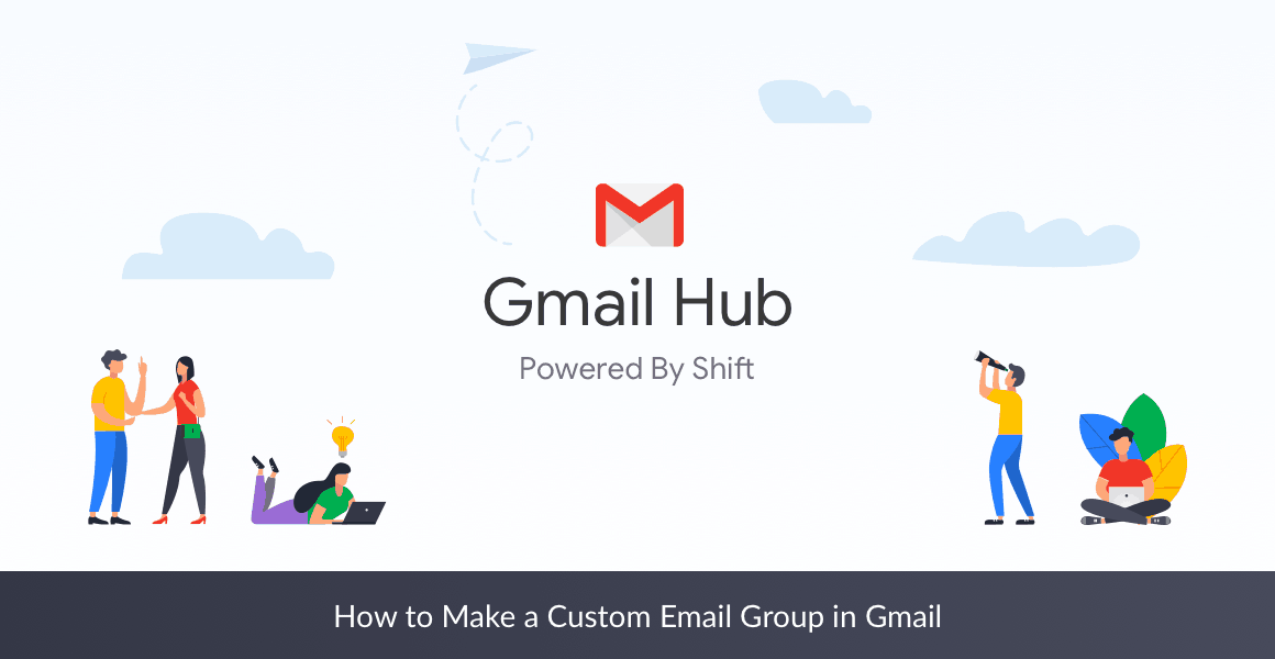 custom email group in gmail