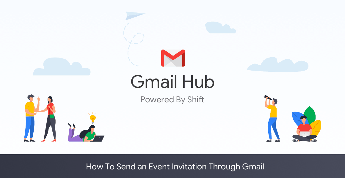 how to send an event invitation gmail