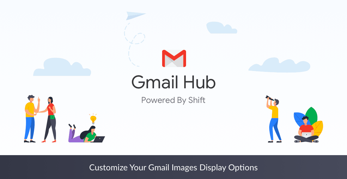 gmail images display options