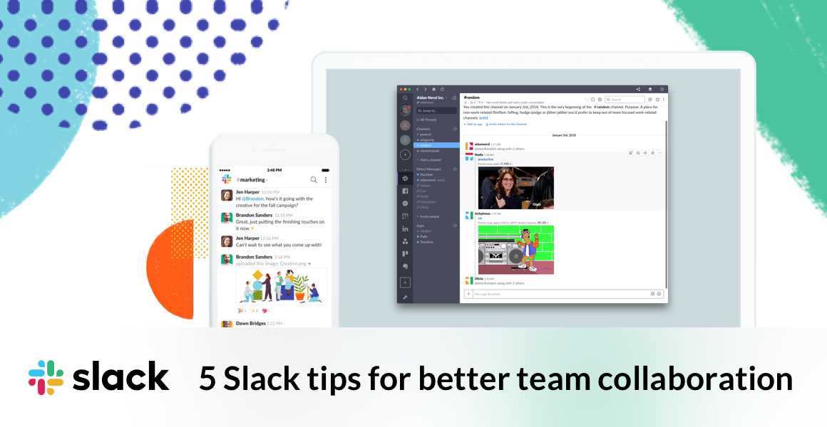 We're breaking down 5 of the best tips for better team collaboration with Slack.
